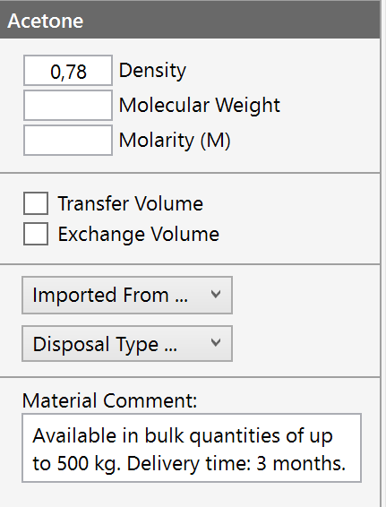 Source Data Section